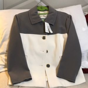 Off white and gray jacket